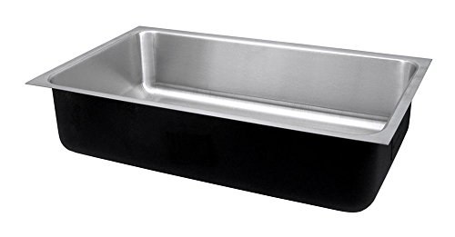 Just USX-1821-A Deep Single Bowl 18-Gauge T-304 Commercial Grade Stainless Steel Undermount (Undermount Group Stainless Steel Sink)