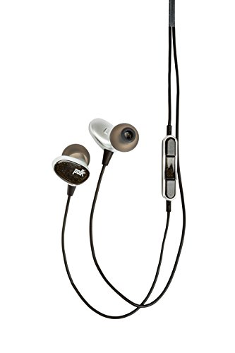 Polk Audio AM4110-A Nue Era Headphones - Black/Silver