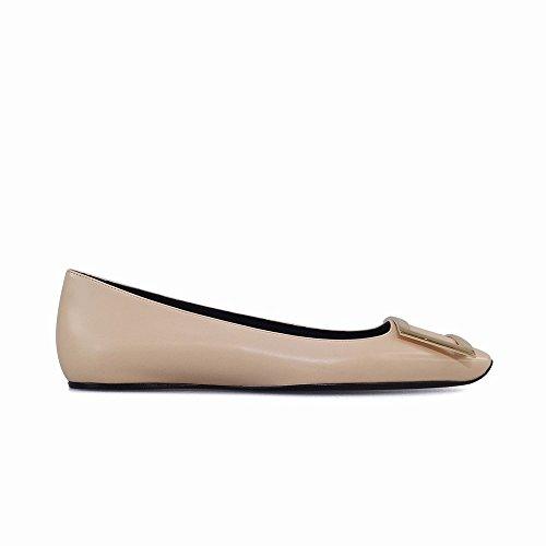 Zapatos Hembra del la la la Planos los del de la Retro Lado Diseñan Cabeza Elegante Zapatos Resorte de UMA Hebilla de High studiolee 2018 de de Los Cuadrada Segundo 34 heels UVA la wftqXxw4Cg