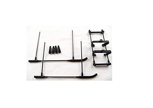 (Part & Accessories Esky Battery Holder & Landing Skid Set 000225 EK1-0240 Honey Bee CPX 2 RC heli)