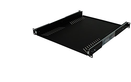 Penn-Elcom Extra Deep Sliding Rack Tray (Audio, AV, IT) Equipment Shelf for 1 Rack Space up to 15' Deep R1290-600/1U by Penn Elcom