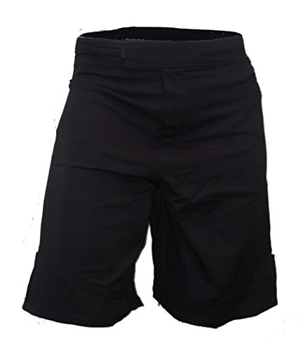 Epic MMA Gear WOD Shorts for Men Agility 3.0 (34, Black)