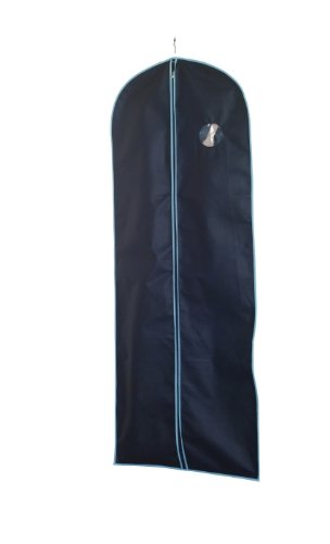 H & L Russel Dress Cover, Marine with Blue Trim