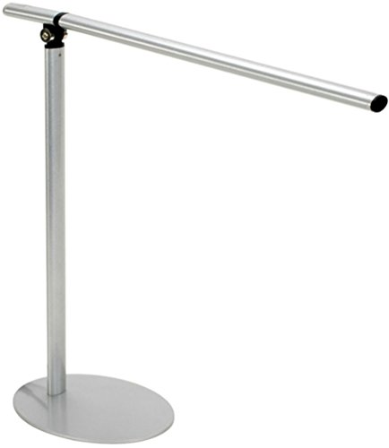 Alvin Torfino LED Lamp, 16 x 16 1/2 inches, Silver (LED3-S)