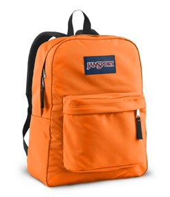 JanSport T501 Superbreak Backpack - Fluorescent Orange