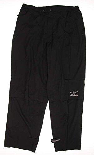New Mens Mizuno Golf Wind Pants Size X-Large XL Black