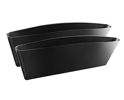 Fengh 2PCS utili seggiolino auto Side unisci-materassi Storage Pocket–nero