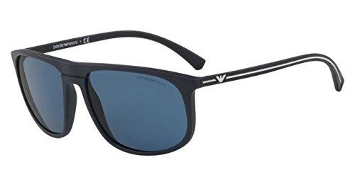 Emporio Armani 0EA4118 Gafas de sol, Blue Rubber, 59 para ...