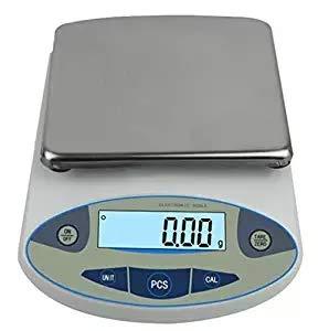 Báscula digital de precisión de laboratorio analógica de alta precisión, balanza electrónica de equilibrio, balanza de...