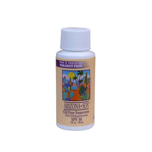 Arizona Sun - Sunscreen SPF 30 - 1 oz - Total Sun Protection Lotion - Oil Free Sunblock Cream - Face and Body Sun Screen - Sun Block by Arizona Sun