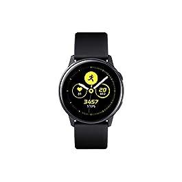 Samsung Galaxy Watch Active (40mm), Black – US Version with Warranty (Renewed)