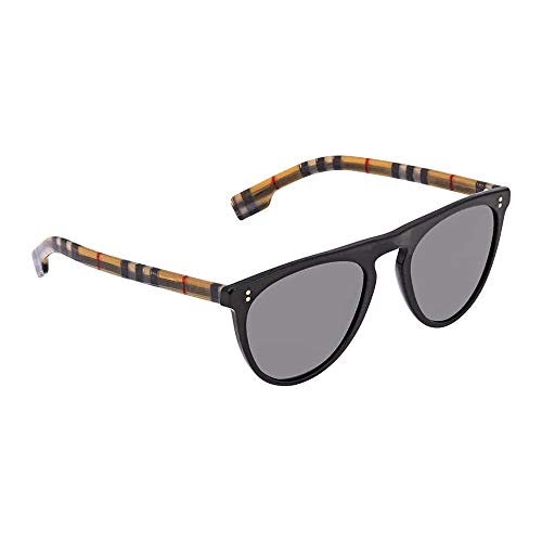 Burberry BE4281 375781 Black BE4281 Pilot Sunglasses Polarised Lens Category ()