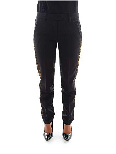 hsb104 Jeans 899 A1 Donna Nero s0456 Versace Pantaloni A6Oxwx
