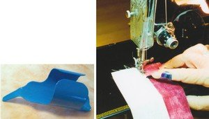 Sew-E-Z Fingerthing Thread Controller, Awl and Fabric Pusher ~ Teal ~ Adjusts to Fit by Sew-E-Z