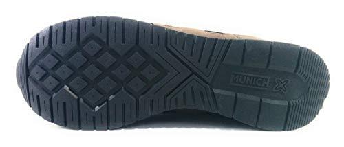 14 Adulto Unisex Marrón de Marron Munich Dash Zapatillas Deporte xqX88O