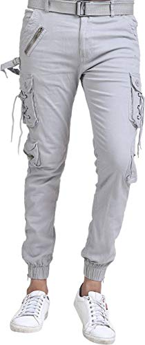 Hootry Dori Style Relaxed Fit Zipper Cargo Pants For Men S Amazon
