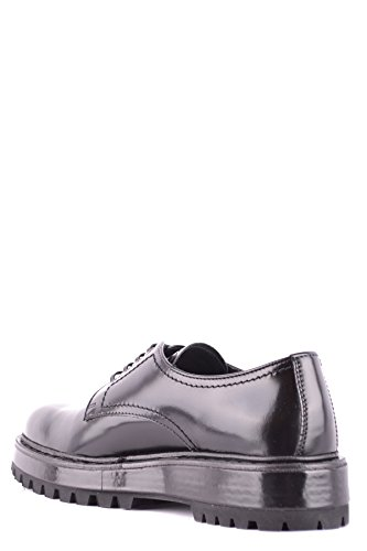 Stringate MCBI063024O Nero Donna Car Pelle Shoe 15wvqv