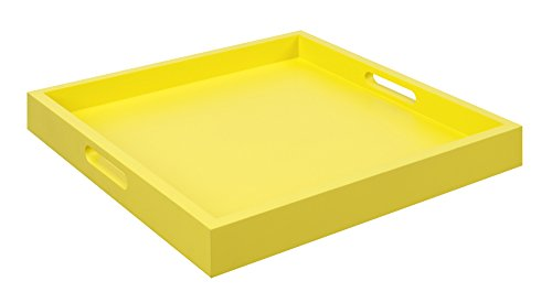 yellow desk tray - 2