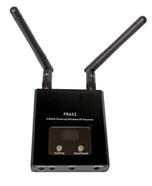 FR632 5.8Ghz 40CH with Raceband Wireless Video Diversity Receiver for RC FPV