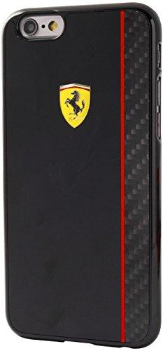 Ferrari Scuderia FECBSHCP6BK Coque pour iPhone 6/6S Noir