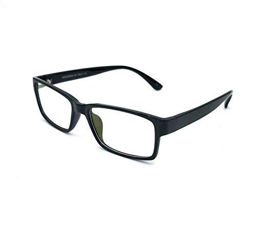 GO EYEWEAR Blueray Block Uv Protected Unisex Computer Glasses (W6131  Black)