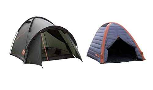 Crua Duo Cocoon Combo Tent: Waterproof Hiking Camping Durable, Breathable Insulated Expedition...