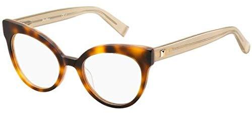 Eyeglasses Max Mara 1285 0GXV Havana Yellow ()