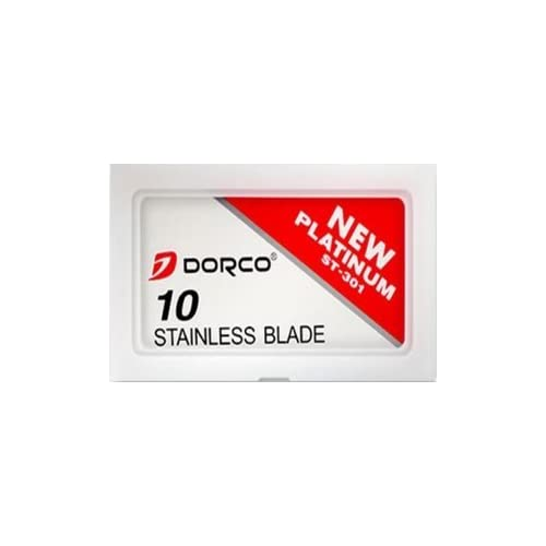 100 lames Dorco ST-301 Stainless
