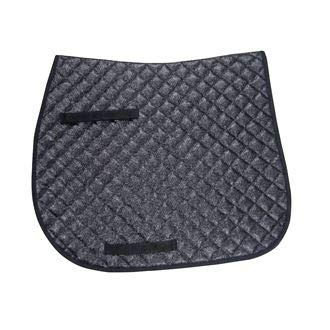 Lettia Sparkly Dressage Pad Black