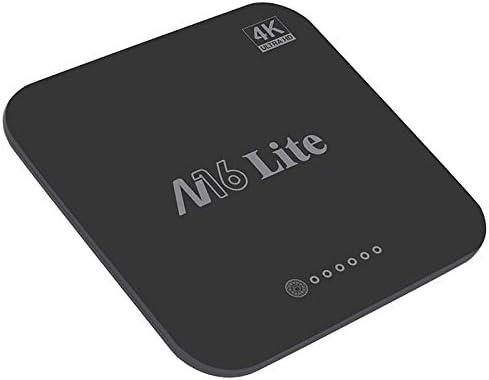 Monland M16 Lite Android Inteligente Caja de TV 1G Ddr3 8G Emmc ROM Set Top Box 4K 3D H.265 WiFi Reproductor Multimedia Receptor de TV UE Enchufe: Amazon.es: Electrónica