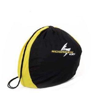 Scorpion EXO Standard Helmet Bag EXO-R410/500/900/1100 Black/Yellow