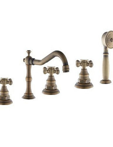 WZL-Antique Roman Tub Widespread / Handshower Included with