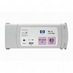HP 83 C4945A UV Ink Cartridge for DesignJet 5000 series, 680ml, Light Magenta