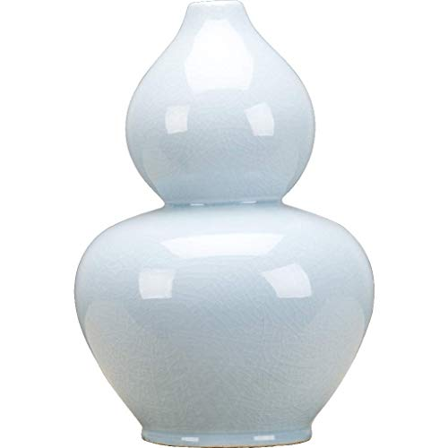 - Gourd Vase-Tint Of Celadon Dimension: 8x8x12 Pattern: Celadon Classic