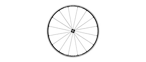 Shimano Cycling Wheel, WH-R9100-C24-Cl Front 16H, Carbon Laminate Rim(W/Rim Tape) Clincher, Old:100mm W/O Wheel Bag,Single 100 Qr, W/O Wheel Bag - EWHR9100C24FCY by Shimano