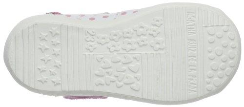 Prada Agatha De Blanco Zapatos Cuero Talla 21 Y Para Ruiz Blanco Color La weiß Bebé blanco Estampado 142908 tvrwqvFx