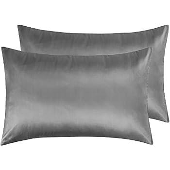 Amazon.com: Lanest Housing Silk-Satin Pillowcase for Hair