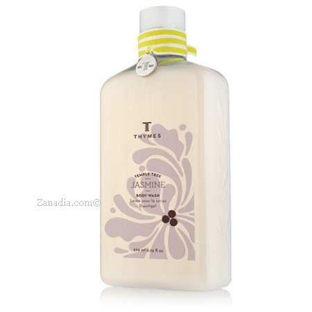 (Thymes Women's Temple Tree Jasmine Body Wash 270ml 9.25oz)