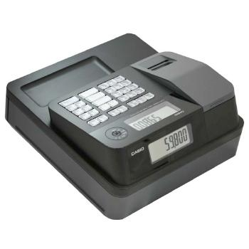 Casio PCR-T273 Electronic Cash Register - works on 120 V, 50/60Hz supply & needs memory backup batteries 2