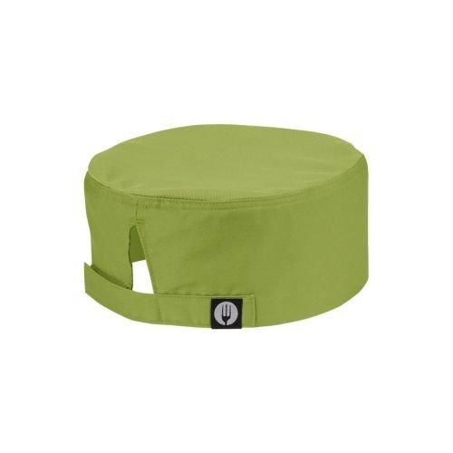 Color por Chef obras A920Cool Vent gorro, Merlot verde lima