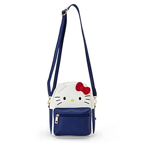 YOURNELO Girl's PU Leather Kitty Melody Mini Leisure Shoulder Bag Crossbody Bag Backpack (Hello Kitty)