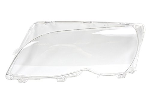 BMW 3 Series E46 Sedan Wagon LCI 2001-2005 Headlight Lens Plastic Cover LEFT OEM