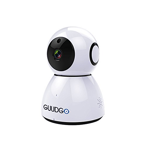 1080P Home Camera, GUUDGO GD-SC03 Snowman Cloud Wireless WIFI IP Camera, Security Surveillance Camera Support Amazon Web Services, Indoor/Outdoor Cam for Home, Baby, Pet Security, Android/IOS/PC View