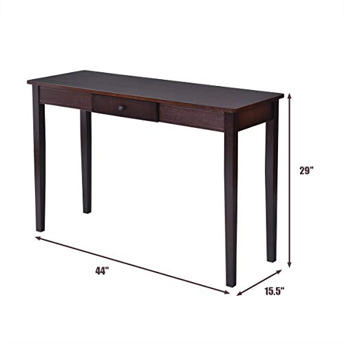 Issavara Console Table Style Drawer Wood New Side Sofa Accent Table Entry Hallway Entryway