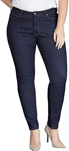 Dickies Women's Perfect Shape Denim Jean-Skinny Stretch Plus Size