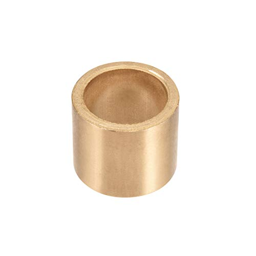 uxcell Bearing Sleeve 25mm Bore x 32mm OD x 28mm Length Self-Lubricating Sintered Bronze Bushings ()