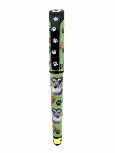 E&S Pets Schnauzer Pen Easy Glide Gel Pen, Refillable with A Perfect Grip, Great for Everyday Use, Perfect Schnauzer Gifts for Any Occasion