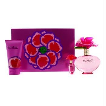 Marc Jacobs - Oh,Lola! Coffret: Eau De Parfum Spray 100ml/3.4oz + Sheer Body Lotion 150ml/5.1oz + Mini Eau De Parfum 4m/0.13oz 3pcs