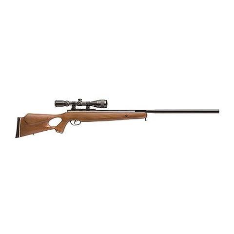 Crosman Benjamin Trail NP XL 1500 .177 Caliber Nitro Piston Air Rifle with Hardwood Stock (Includes 3-9 X 40mm (3 8 Scope Mount Adapter)