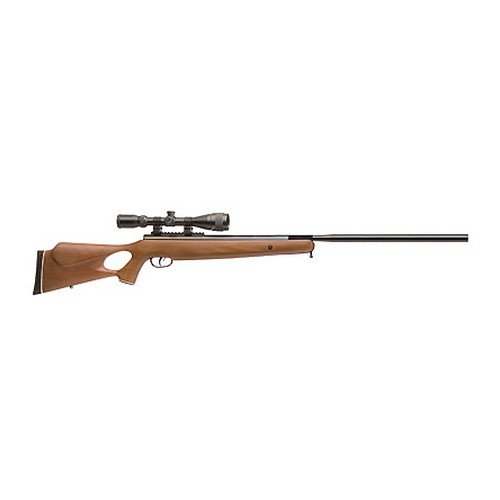 Crosman Benjamin Trail NP XL 1500 .177 Caliber Nitro Piston Air Rifle with Hardwood Stock (Includes 3-9 X 40mm Scope)